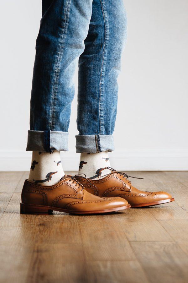 öltönyzokni, mintás zokni_