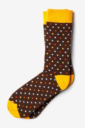 öltönymintás zokni_barna_férfizokni, mintás zokni_
