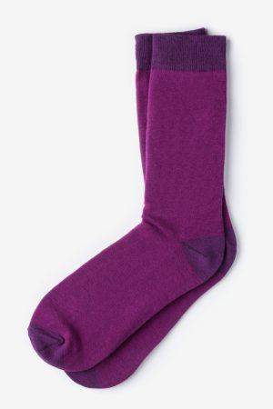 mintás zokni_lila_férfi