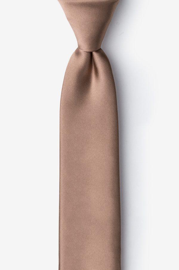nyakkendő_barna_microfiber