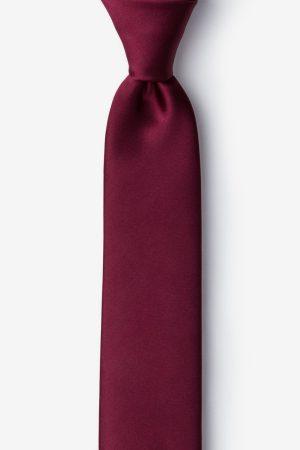 nyakkendő_bordó_microfiber
