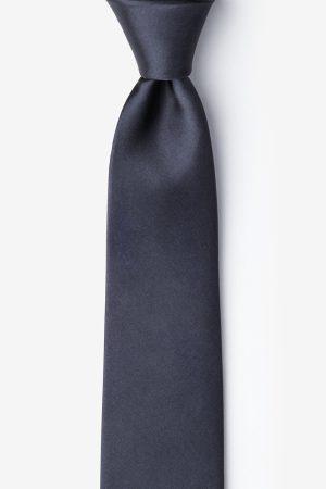 nyakkendő_fekete_szürke_selyem