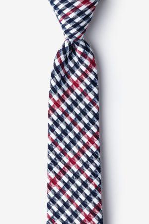 nyakkendő_kék_piros_pamut