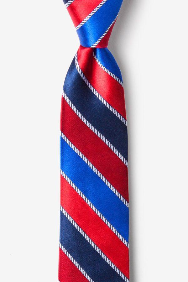 nyakkendő_kék_piros_selyem