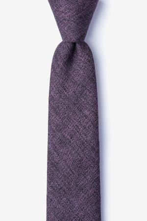 nyakkendő_lila_pamut