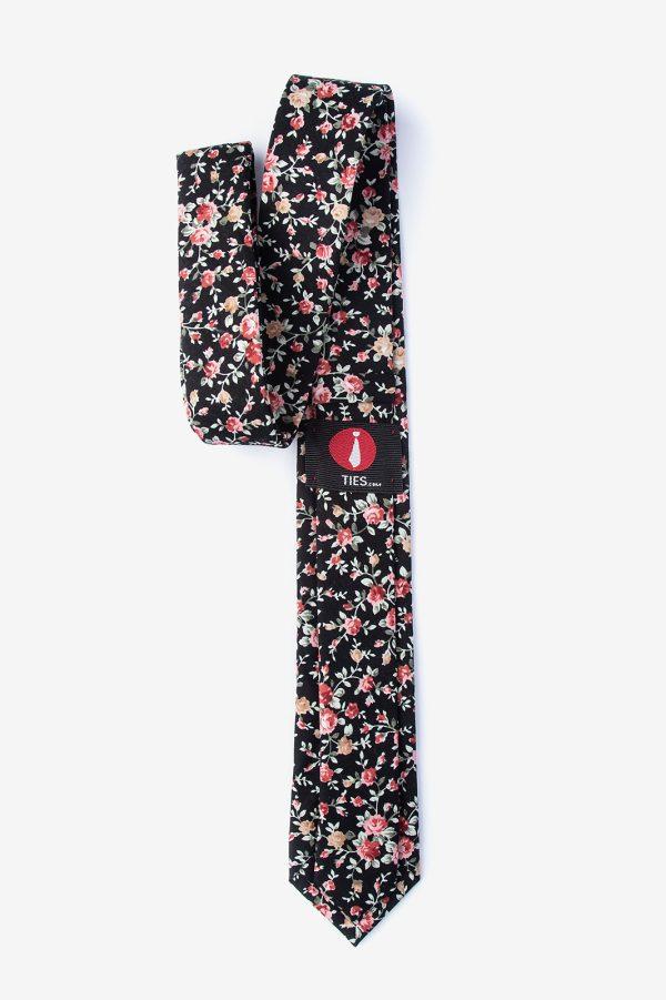 nyakkendő_mintás_virágos_pamut