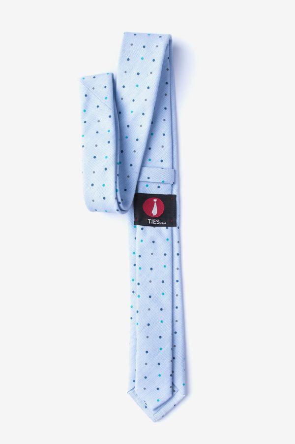 nyakkendő_pöttyös_kék_pamut