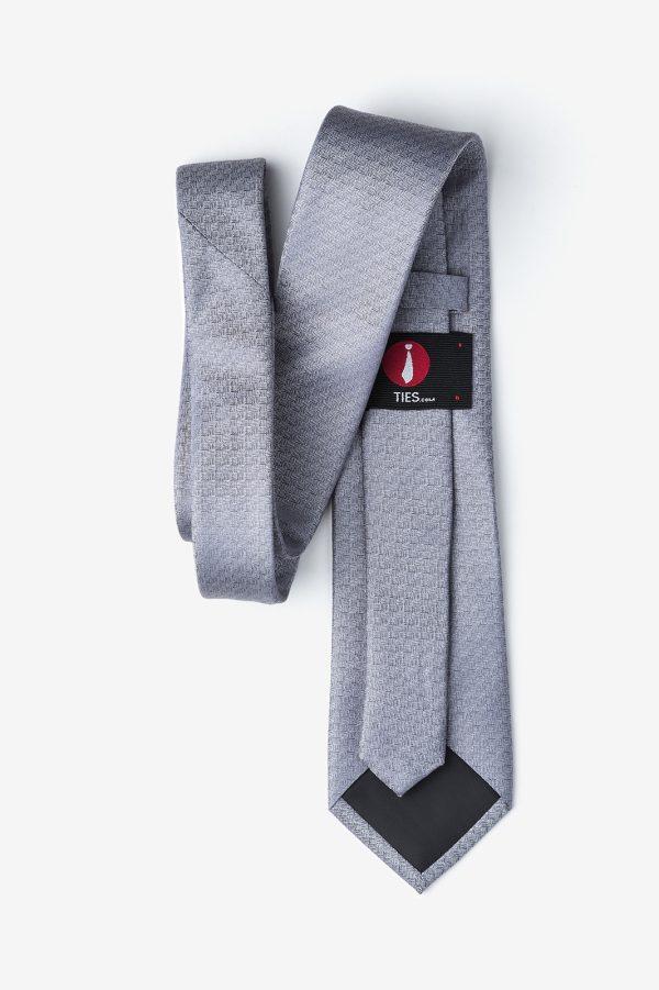 nyakkendő_szürke_selyem