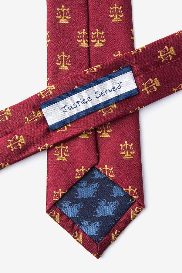 nyakkendő_vörös_piros_mintás_selyem