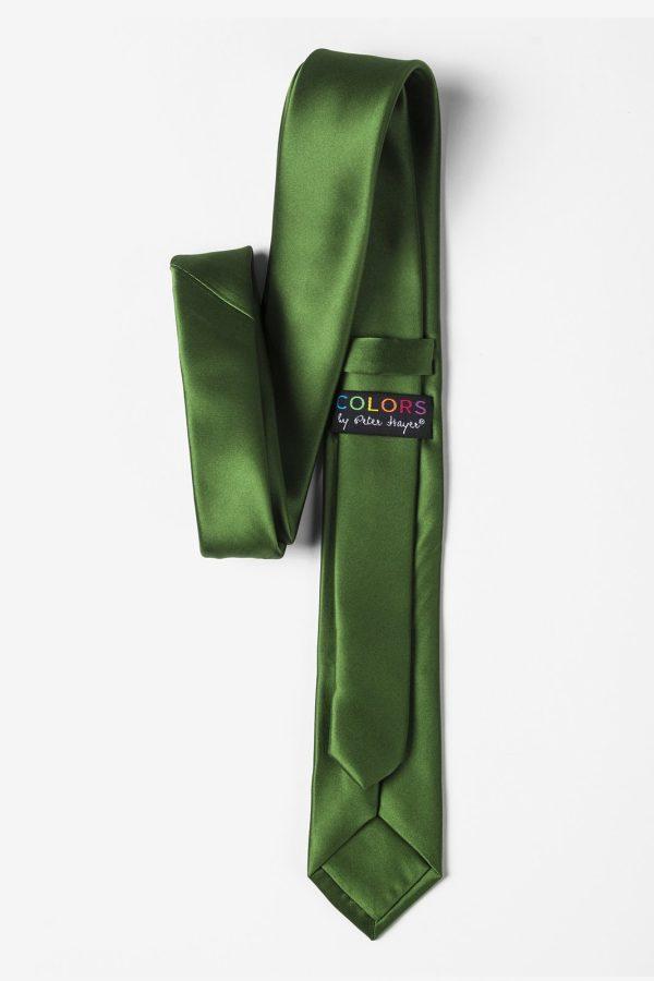 nyakkendő_zöld_microfiber