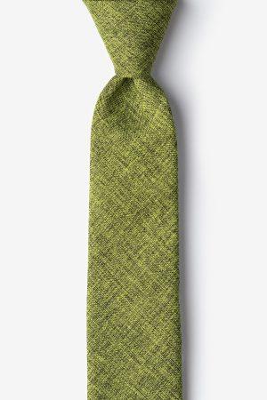 nyakkendő_zöld_pamut