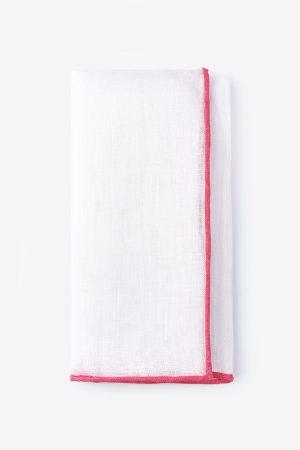 díszzsebkendő_fehér_rózsaszín szegéllyel_lenvászon