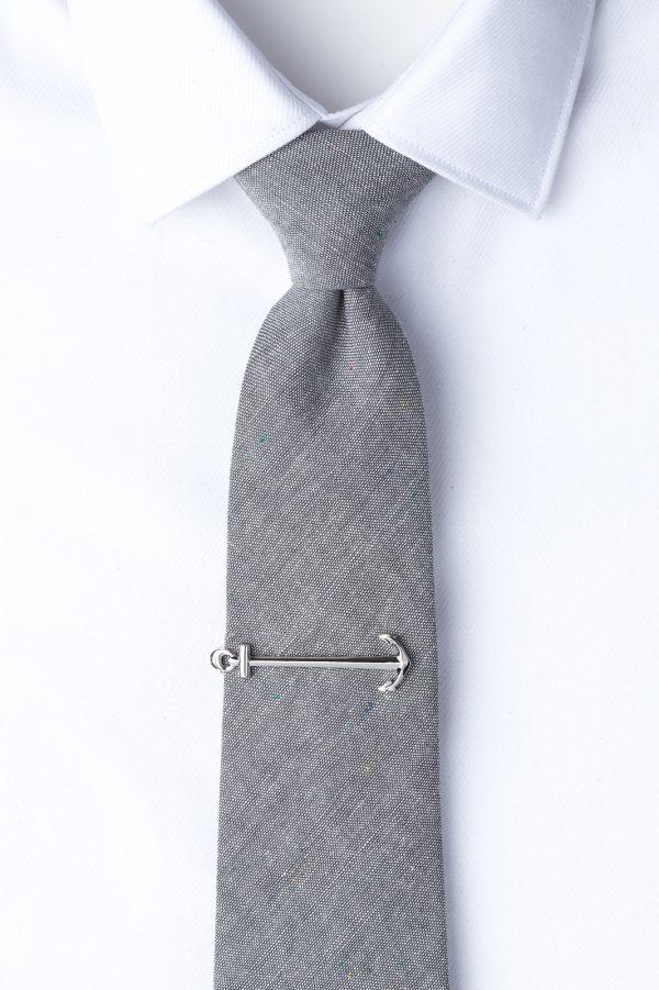 nyakkendőtű_ezüst_horgony