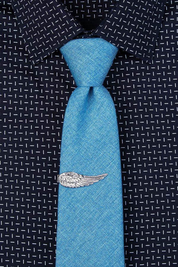 nyakkendőtű_ezüst_angyalszárny