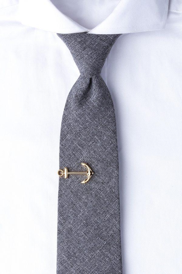 nyakkendőtű_arany_horgony