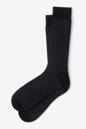 mintás zokni_fekete_férfi