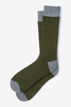 mintás zokni_zöld_férfi