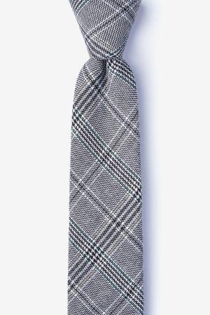 szürke_pamut_nyakkendő