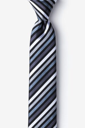 nyakkendő_fekete_csíkos_selyem