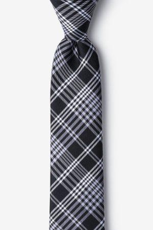 nyakkendő_fekete_selyem