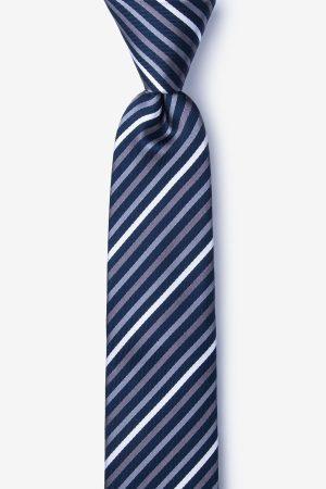 nyakkendő_kék_csíkos_selyem